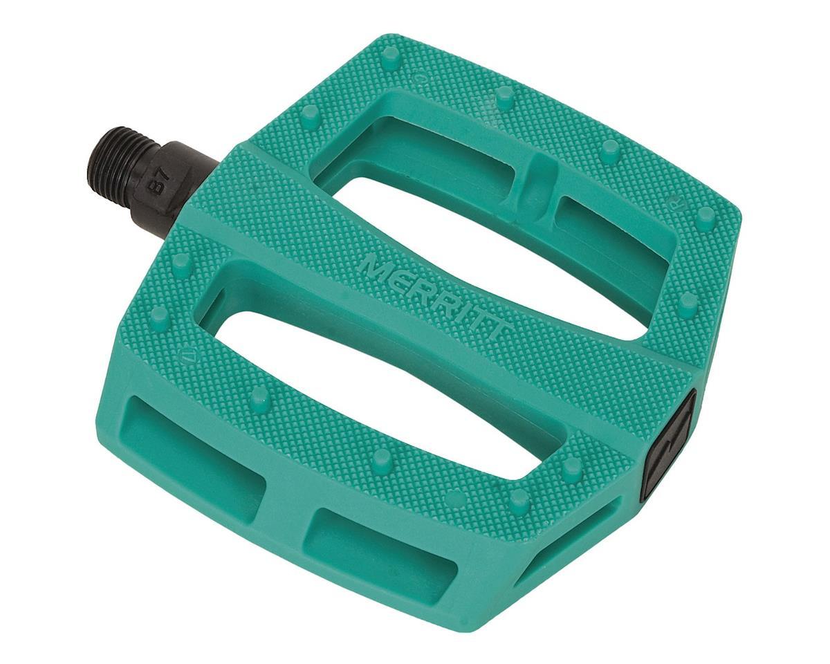 "Merritt P1 PC Pedals (Aquafresh) (9/16"")"