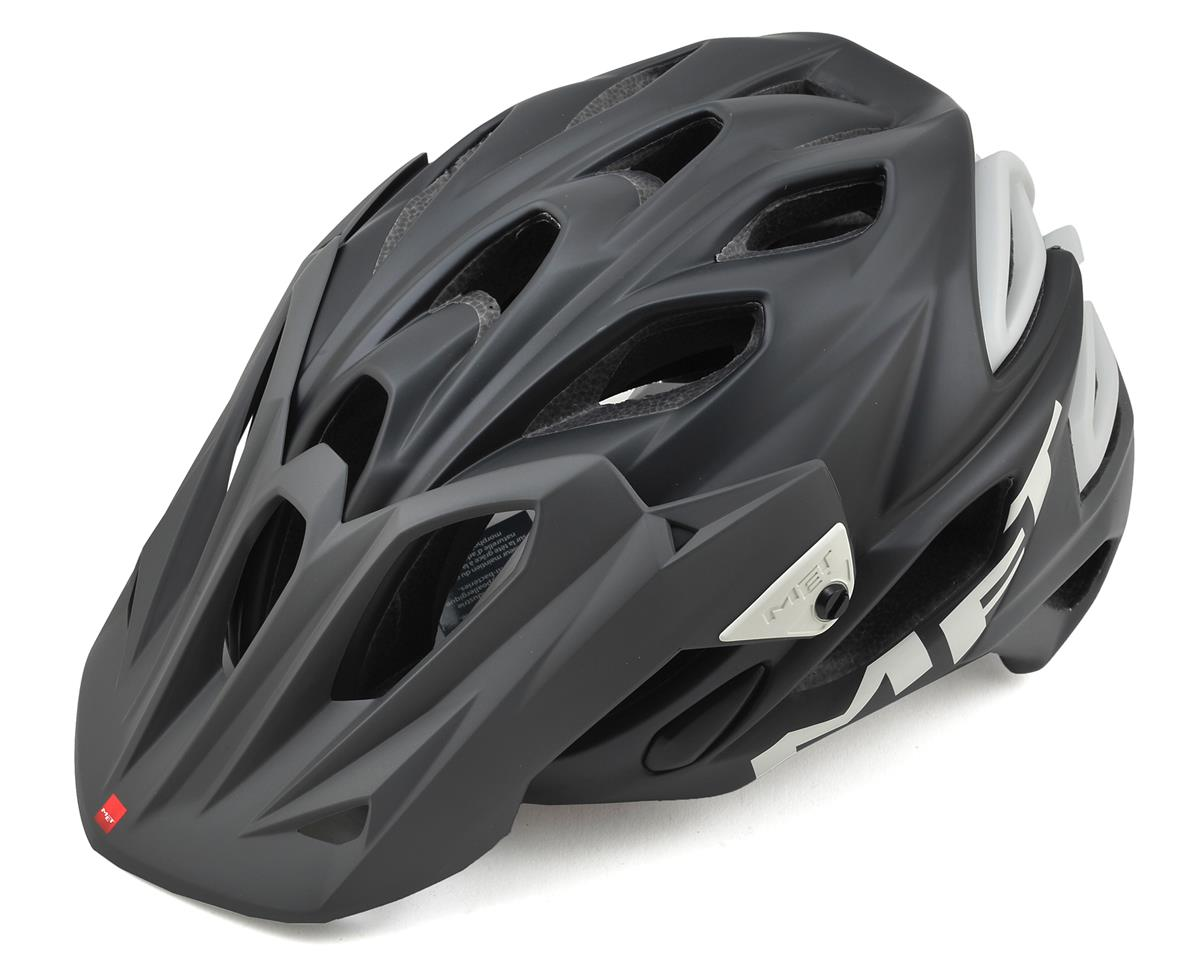 Met Parabellum Mountain Helmet (Matte Black/White)