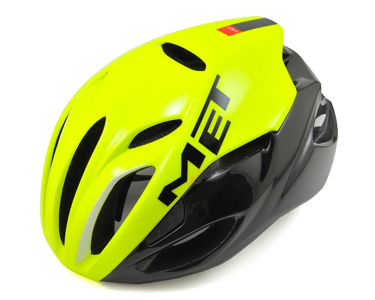 Met Rivale Aero Road Helmet (Safety Yellow/Black)