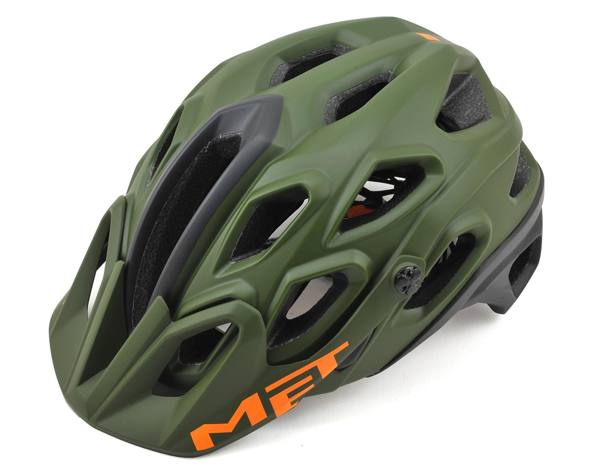 Met Lupo Mountain Bike Helmet (Green/Black)