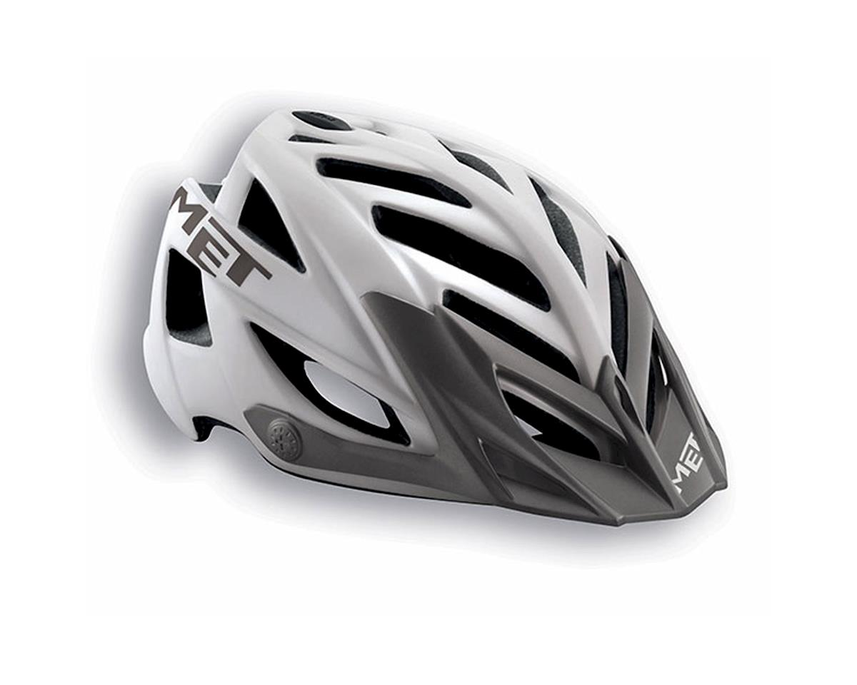 MET Terra MTB Helmet (White/Grey) (One Size)