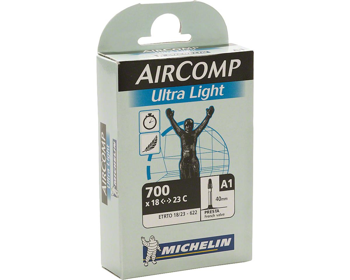 Michelin AirComp Ultra Light Tube (700x18-23mm) (40mm Presta Valve)