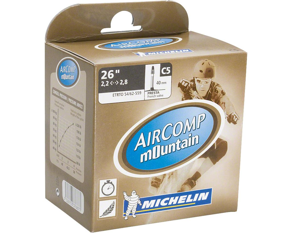 Michelin AirComp Mountain Presta Valve Tube (26 x 2.1-2.5)
