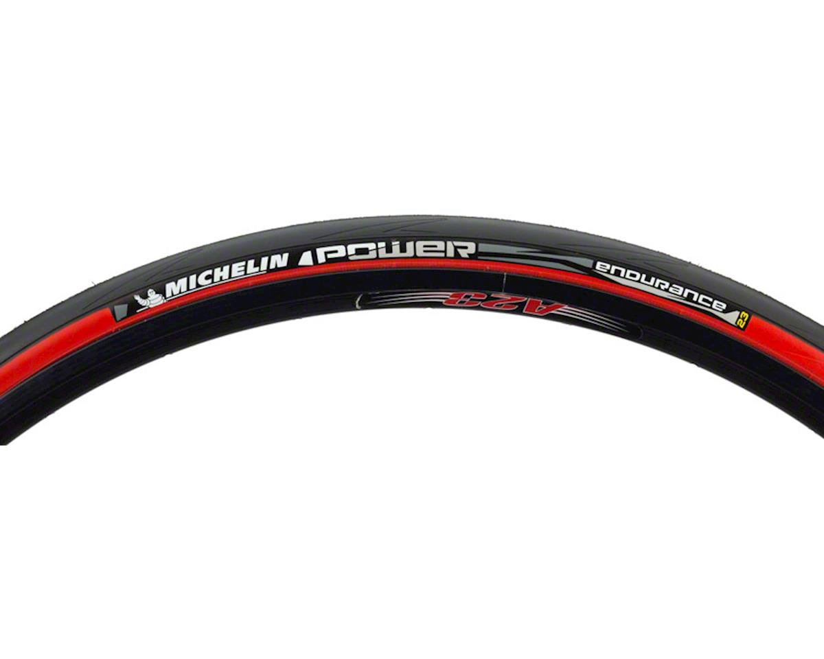 Michelin Power Endurance Tire (Red) (700 x 23)