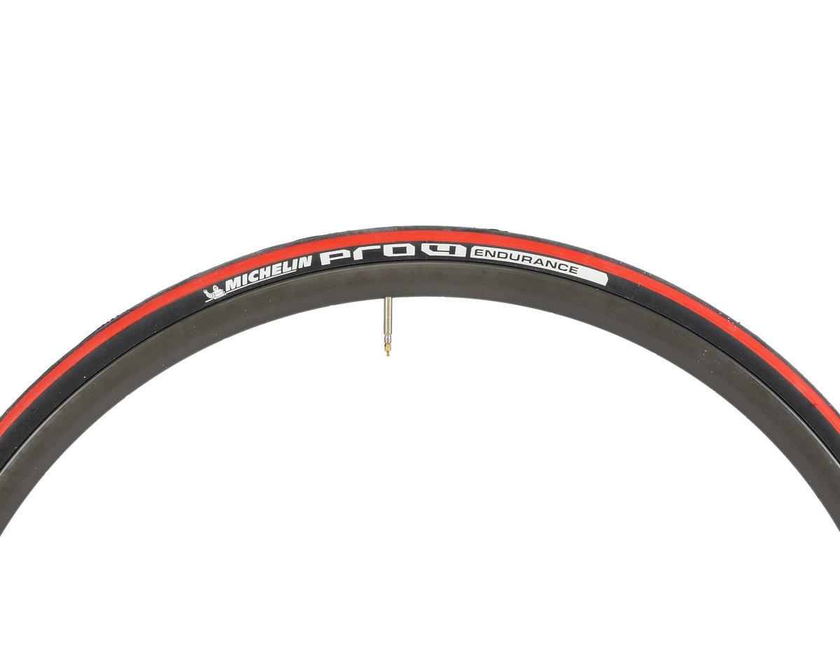 Michelin PRO4 Endurance Tire (Folding) (Red)