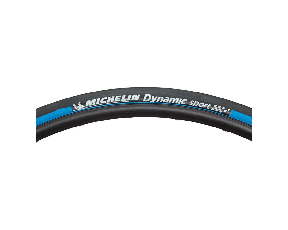 700x23mm Black//Blue Michelin Dynamic SportTire