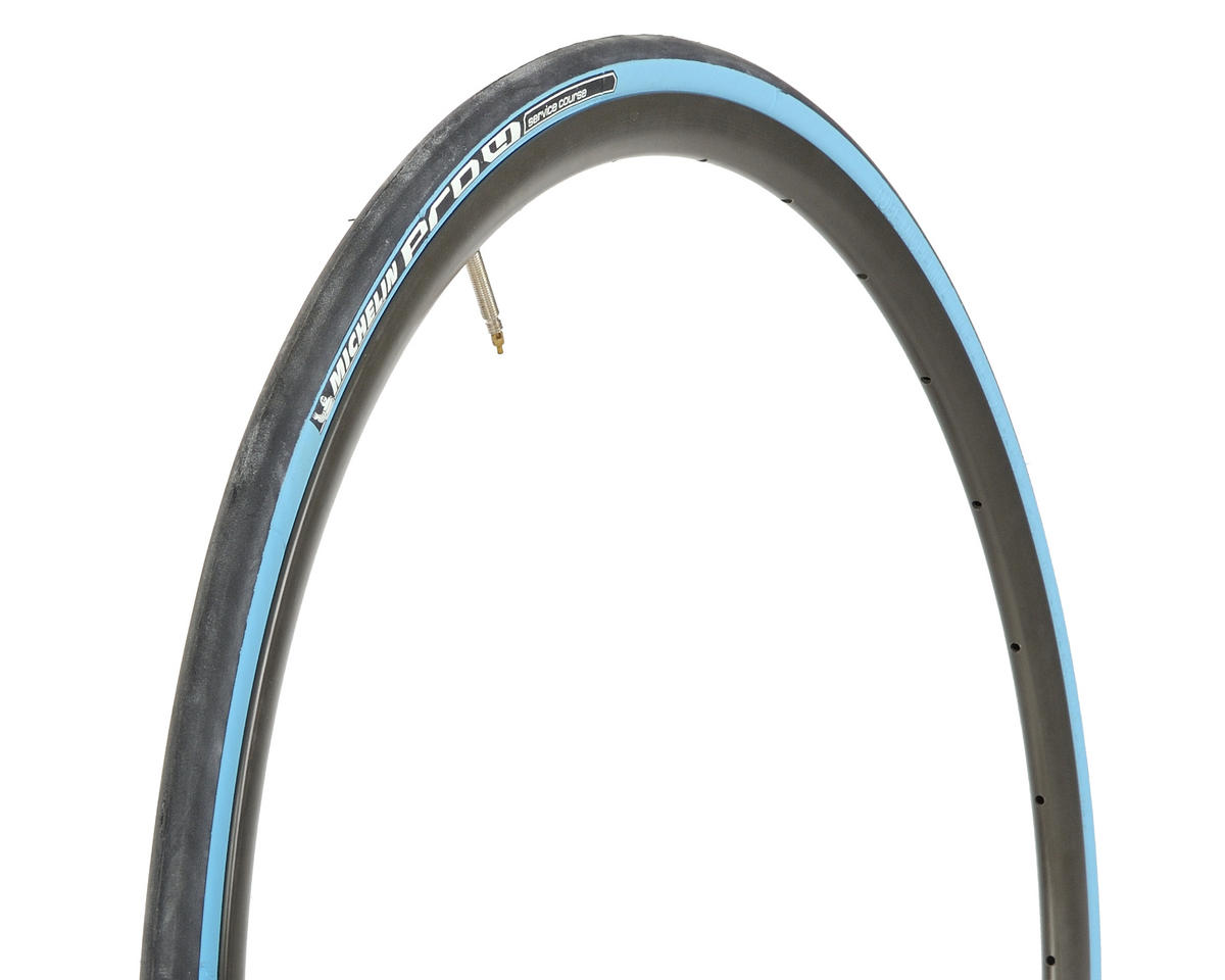 Michelin Pro4 Service Course Tire (Folding) (Digital Blue) (700 x 23)