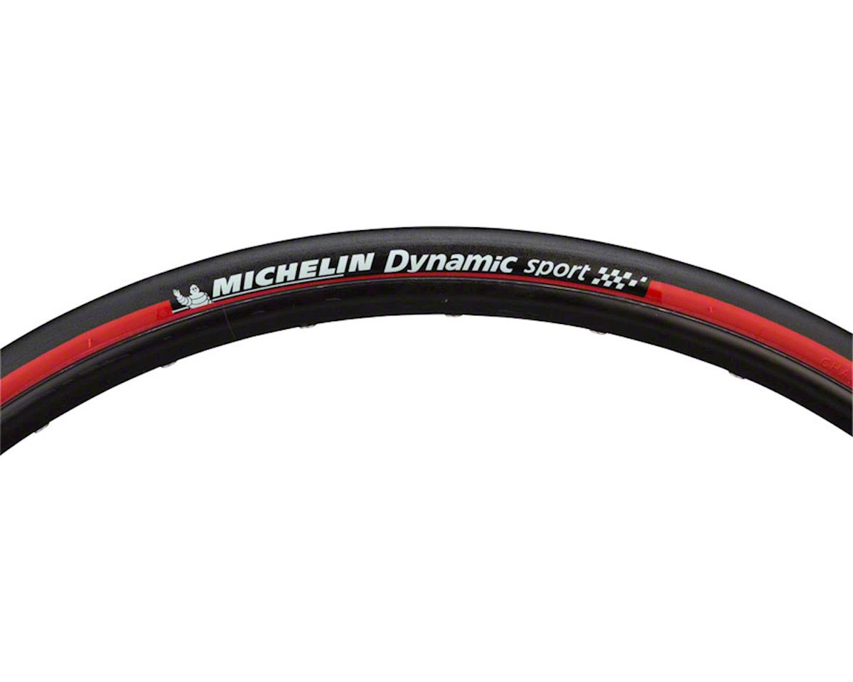 Michelin Dynamic Sport Tire (Black/Red) (700x23mm)