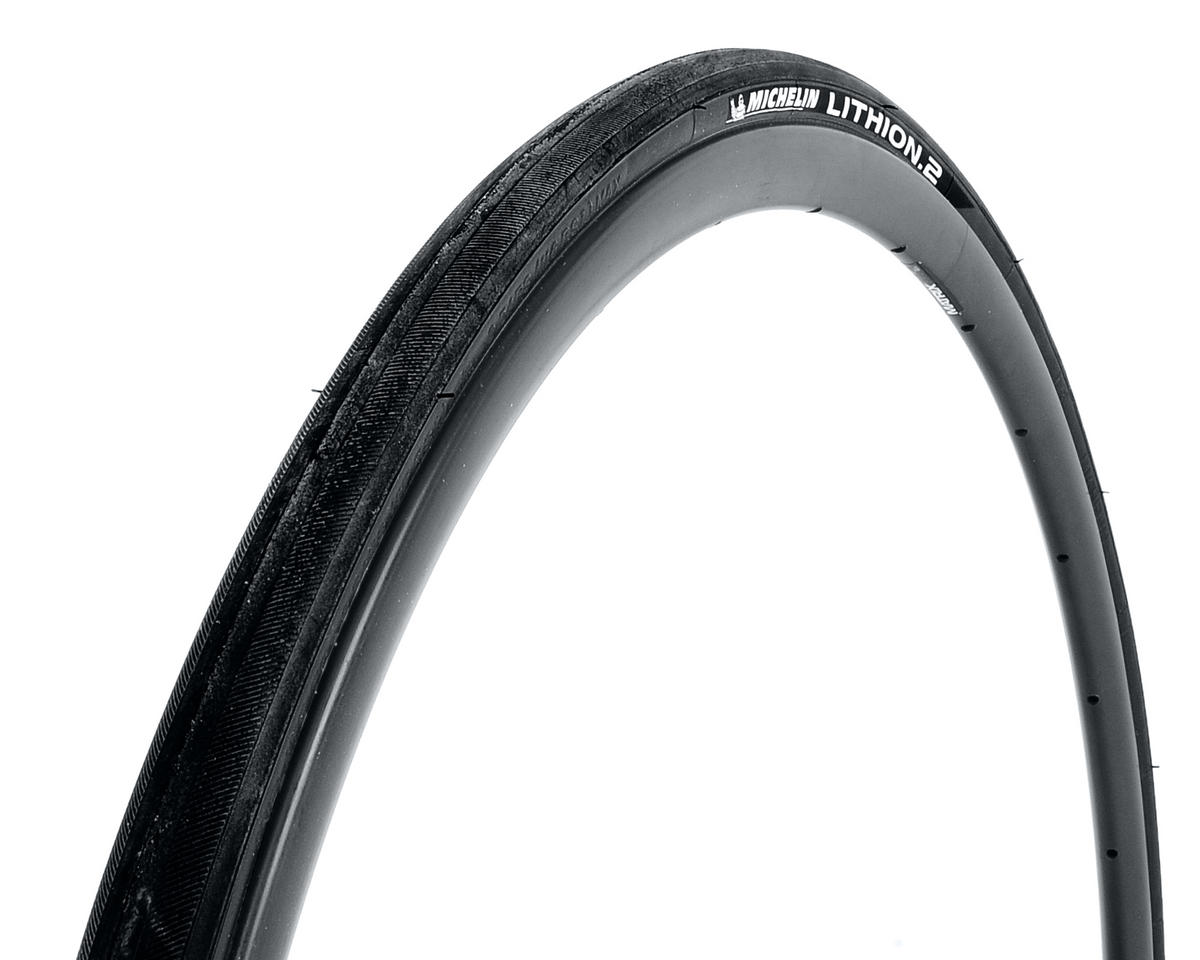 Michelin Lithion 2 Road Tire (Folding) (Black) (700 x 23)