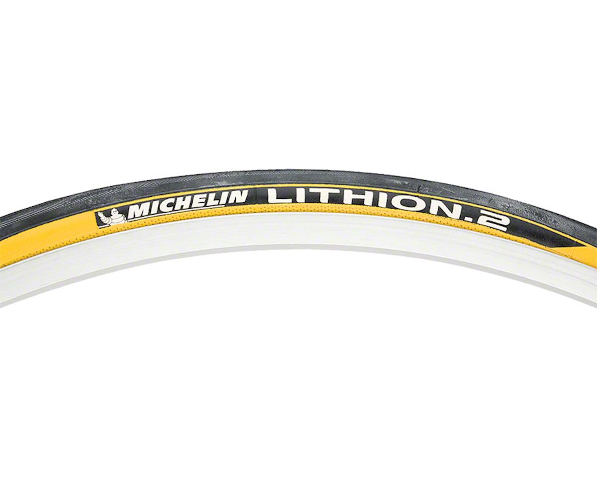Michelin Lithion 2 Tire (Black/Yellow) (700 x 23mm)