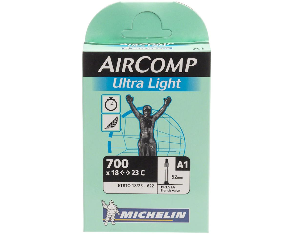 Image 2 for Michelin AirComp Ultra Light Tube (700x18-23mm) (52mm Presta Valve)