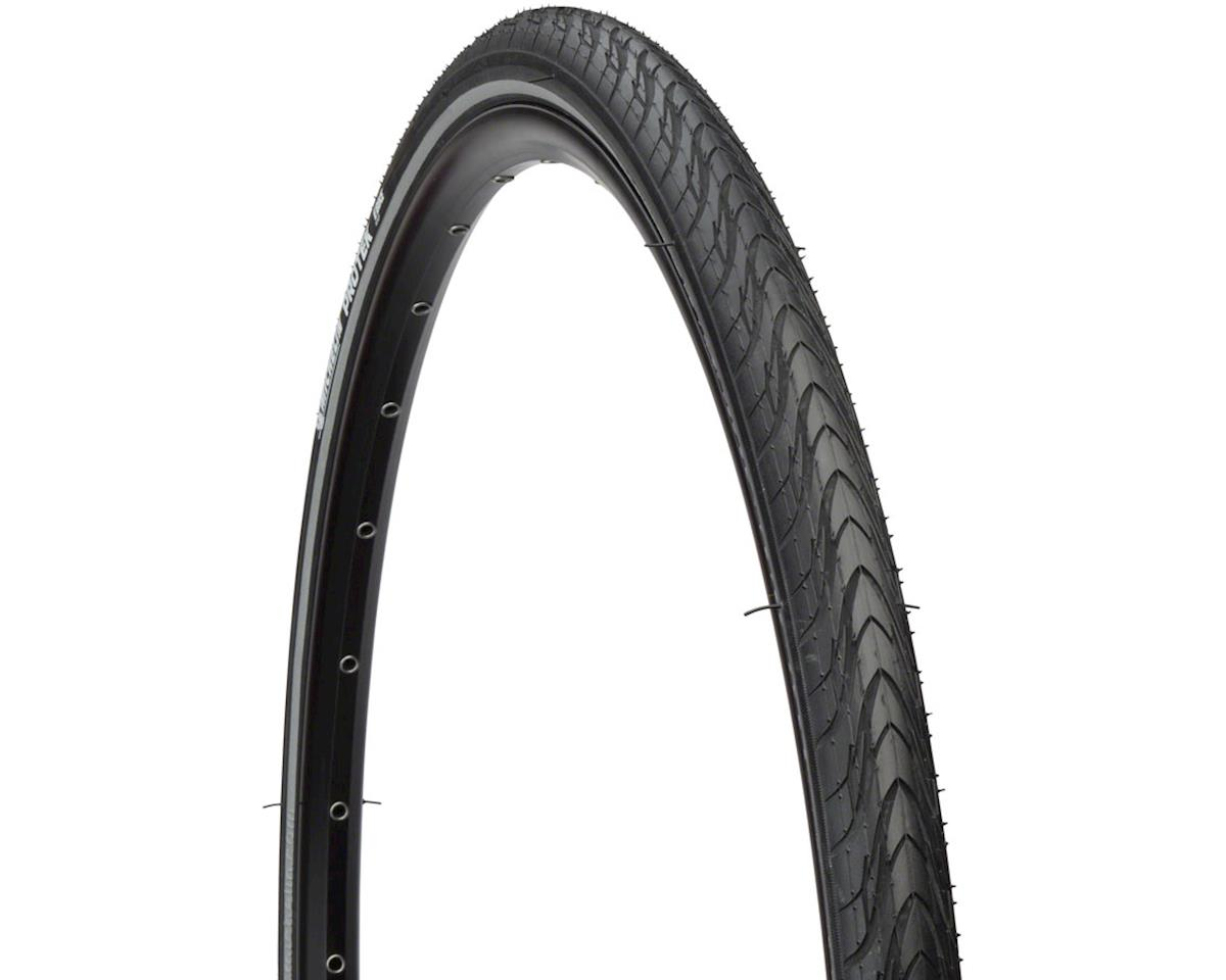 Black Michelin Protek Tire 700x40mm