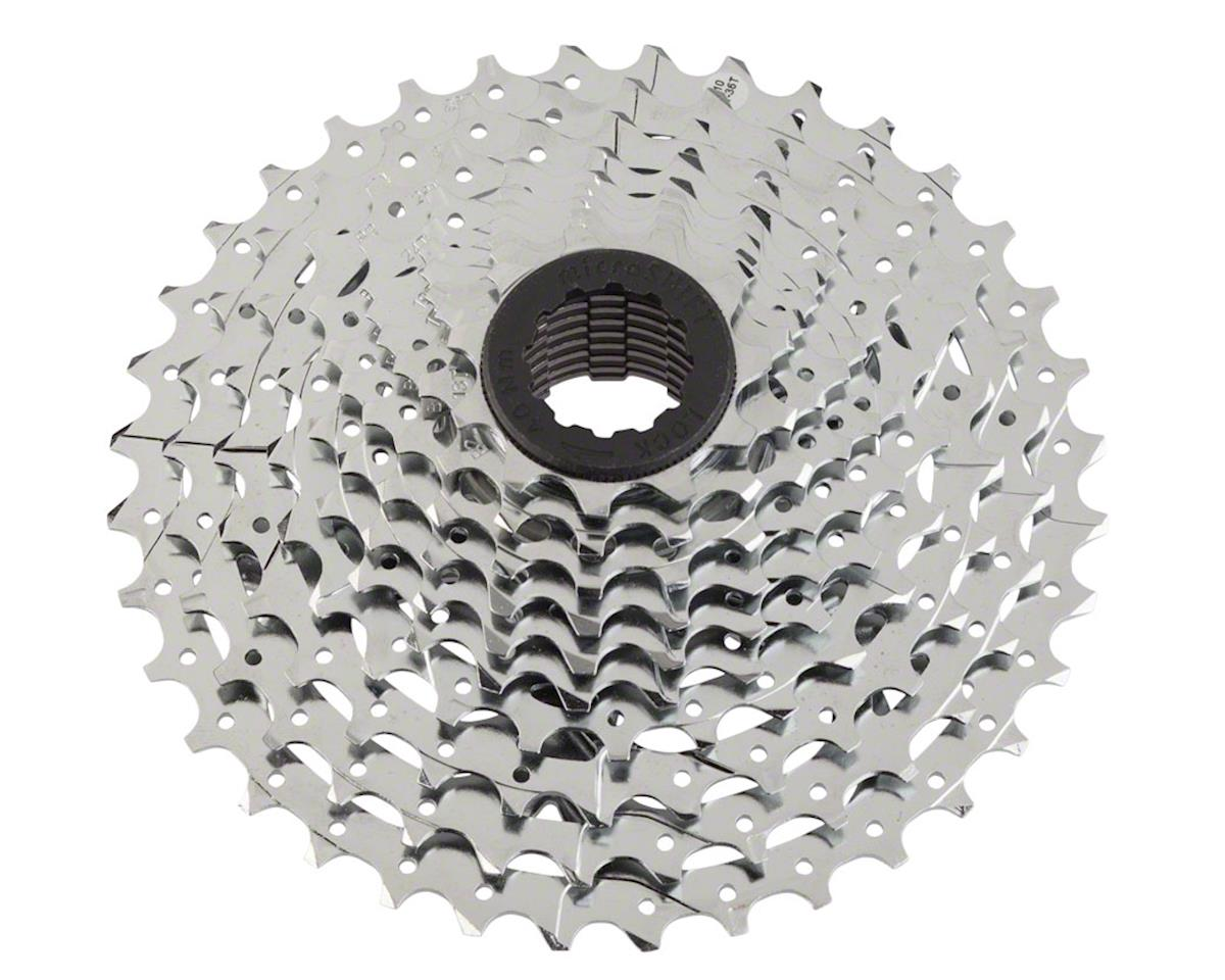 MicroShift G10 10-Speed Cassette w/ Spider (Silver/Chrome Plated) (11-28T)