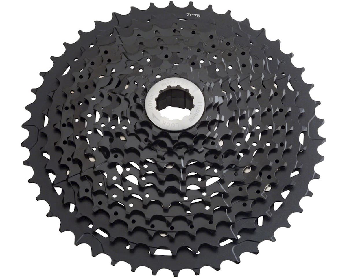 MicroShift G113 11-Speed Cassette w/ Aluminum Spider (Black) (11-46T)