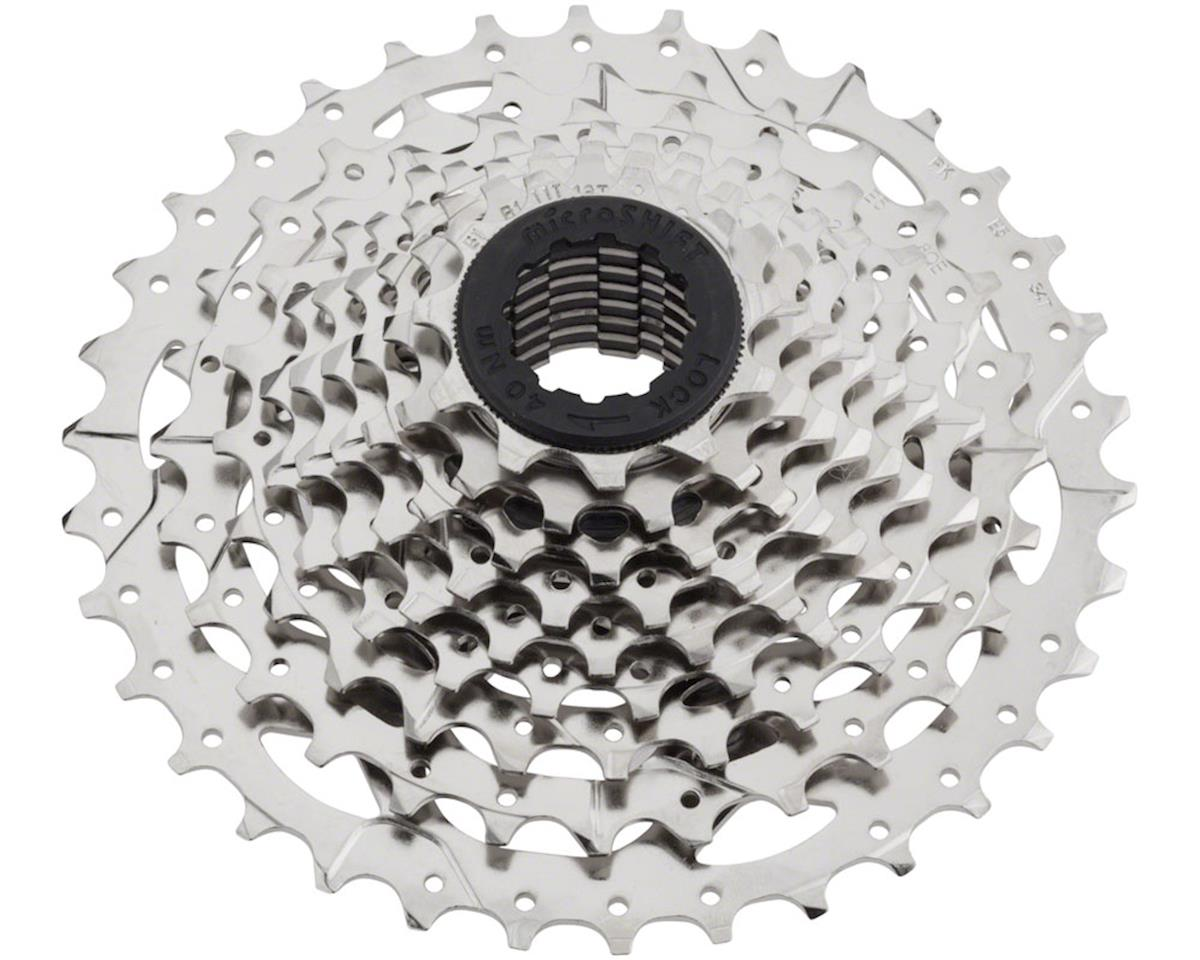 MicroShift H09 9 Speed Cassette (Nickel Plated Silver) (11-36T)