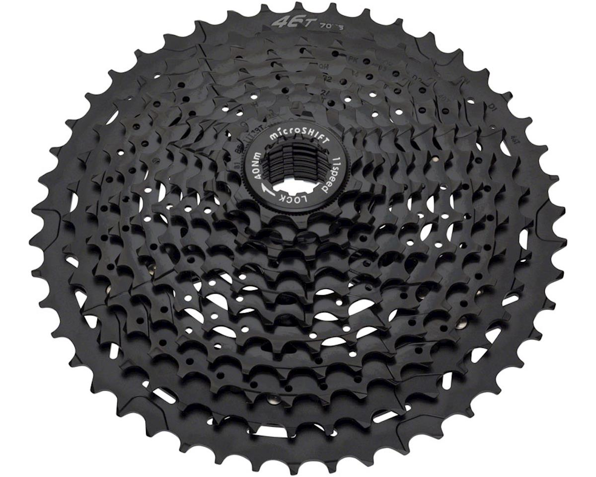 MicroShift H113 11-Speed Cassette w/ Aluminum Spider (Black) (11-46T)