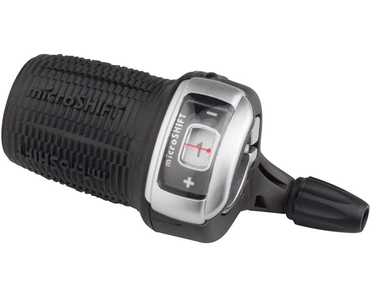 MicroShift DS85 Twist Shift 3-Speed Left Shifter