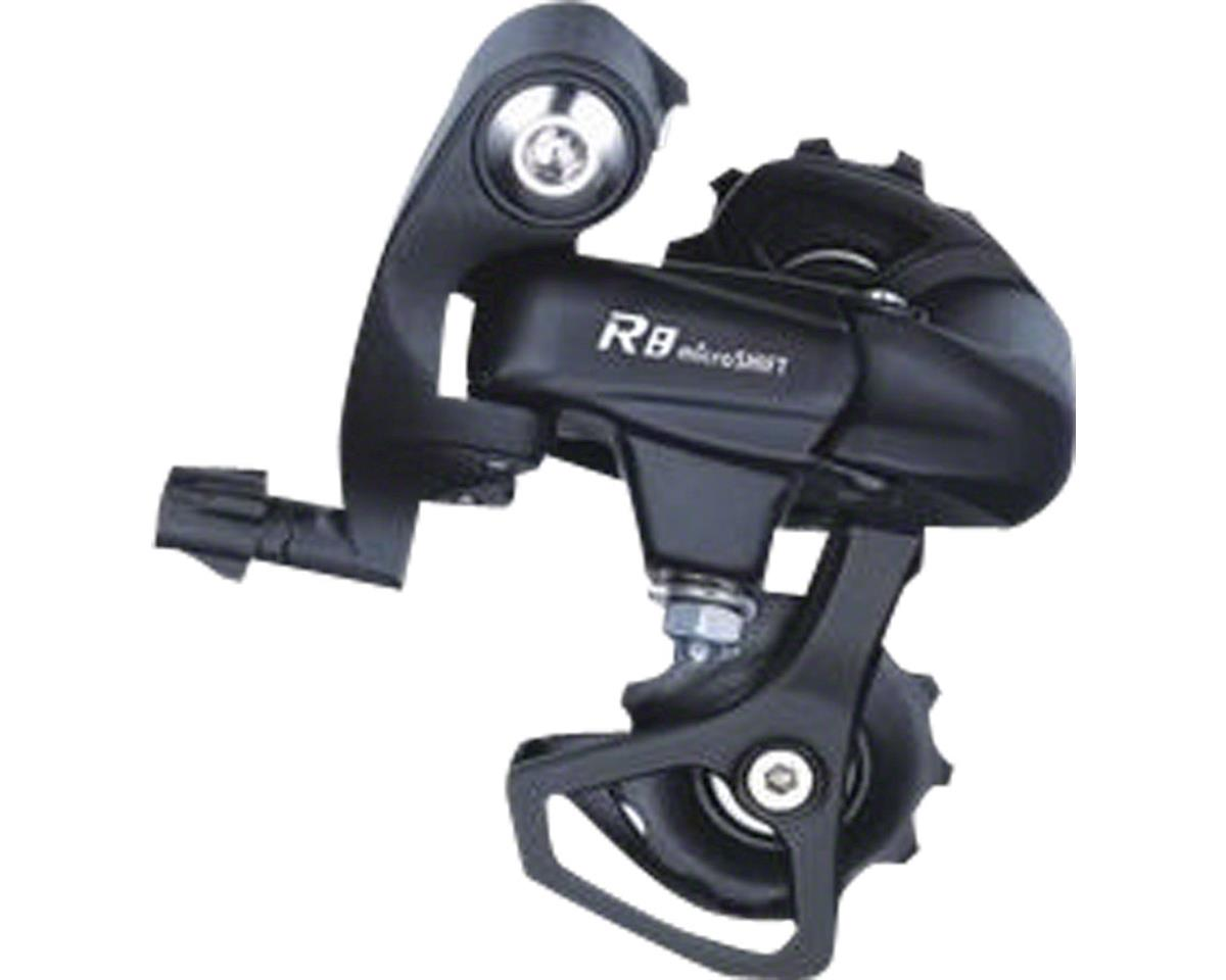 R8 7/8-Speed Short Cage Rear Derailleur, Shimano Compatible, Black