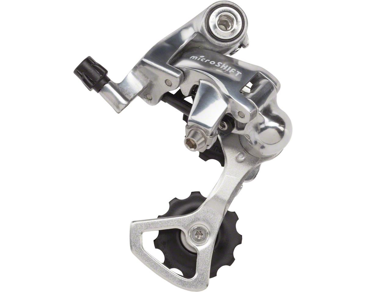 R10 10-Speed Road Short Cage Rear Derailleur, Shimano Compatible, Sil