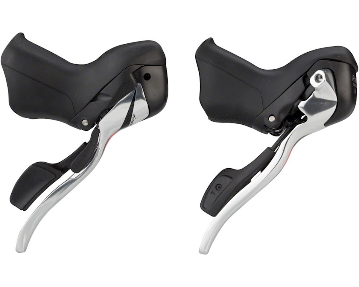 MicroShift R10 2 x 10 Speed Drop Bar Shifters (Short Reach)