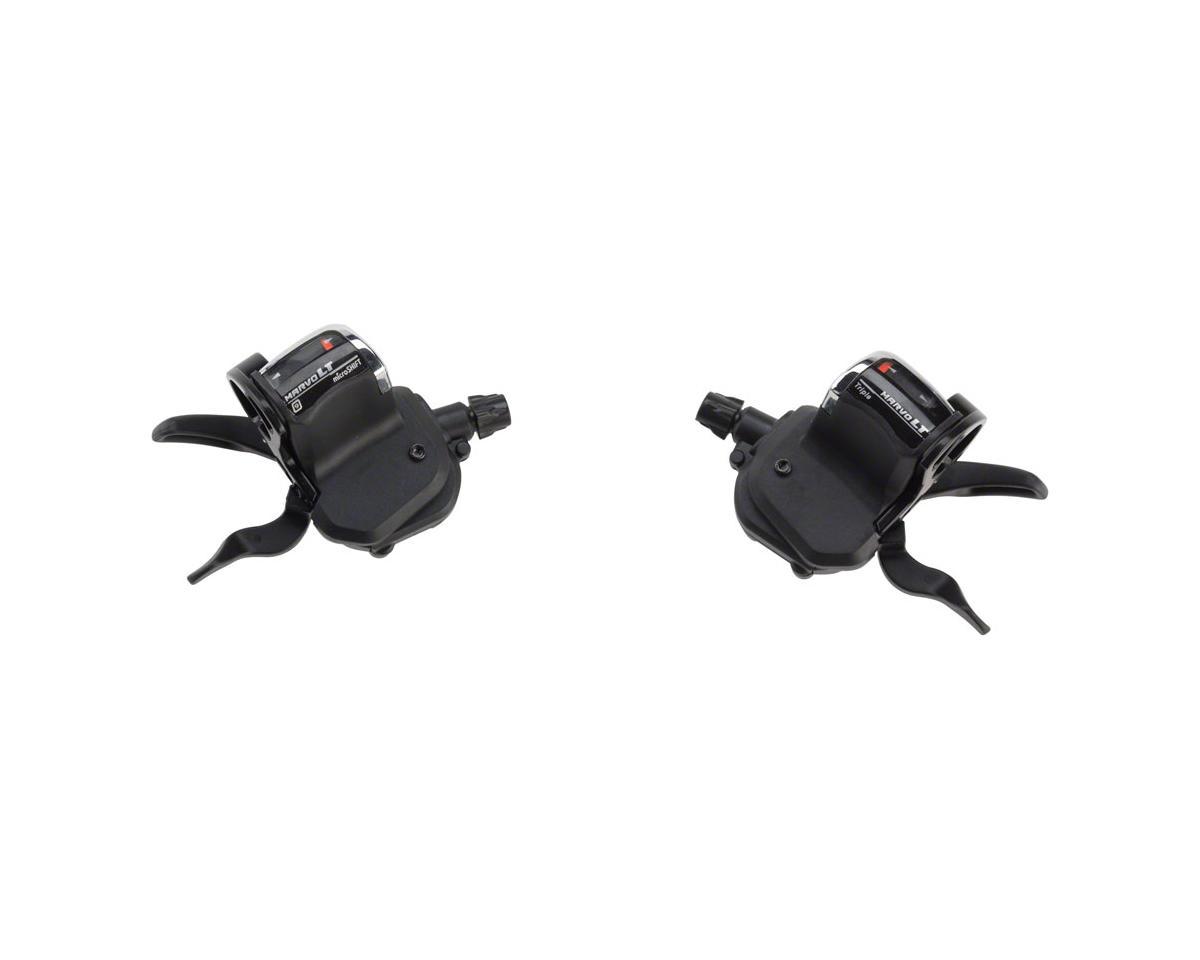 MicroShift MarvoLT Double/Triple 9-Speed Trigger Shifter Set