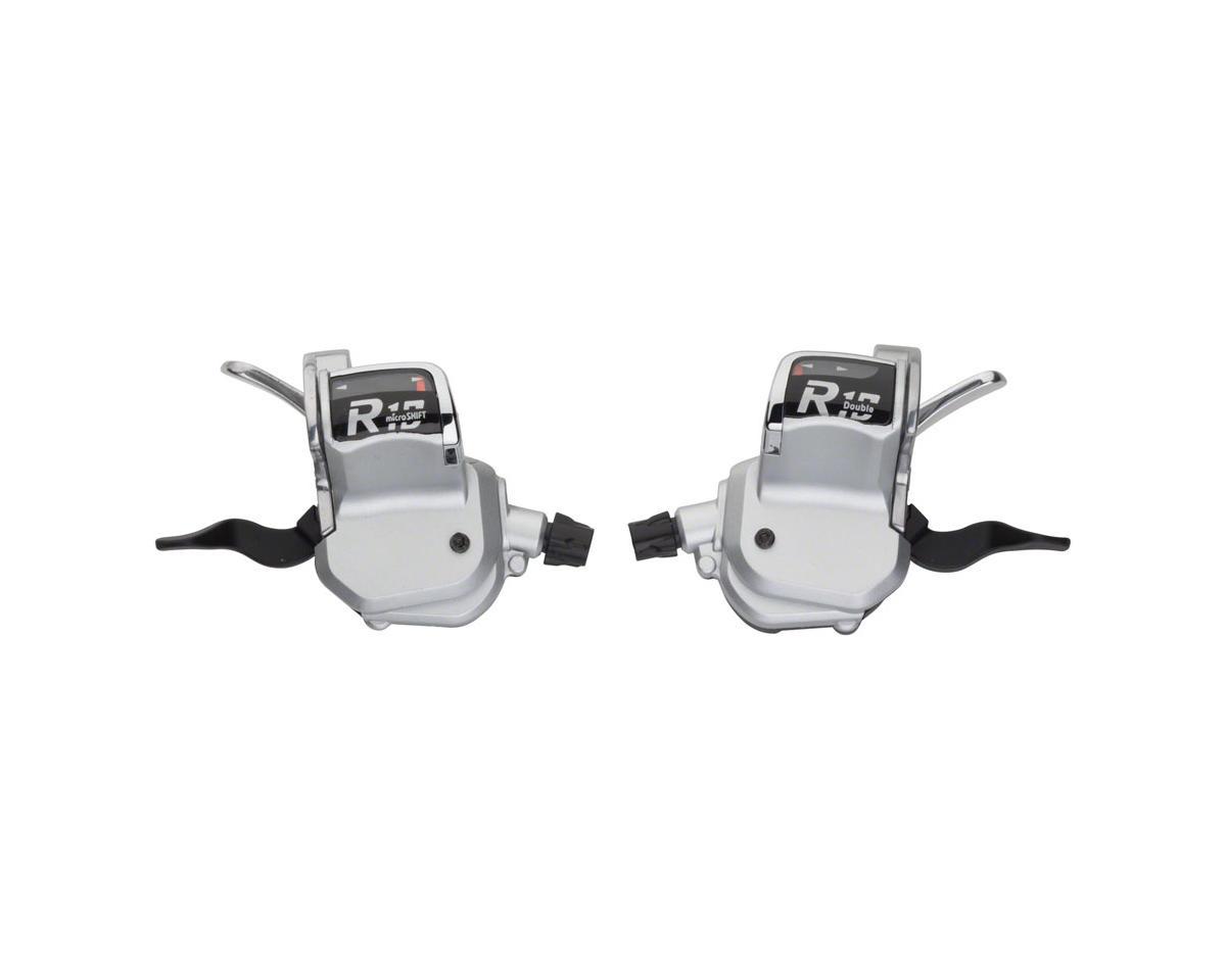MicroShift R10 2 x 10-Speed Road Flat Bar Shifter Set