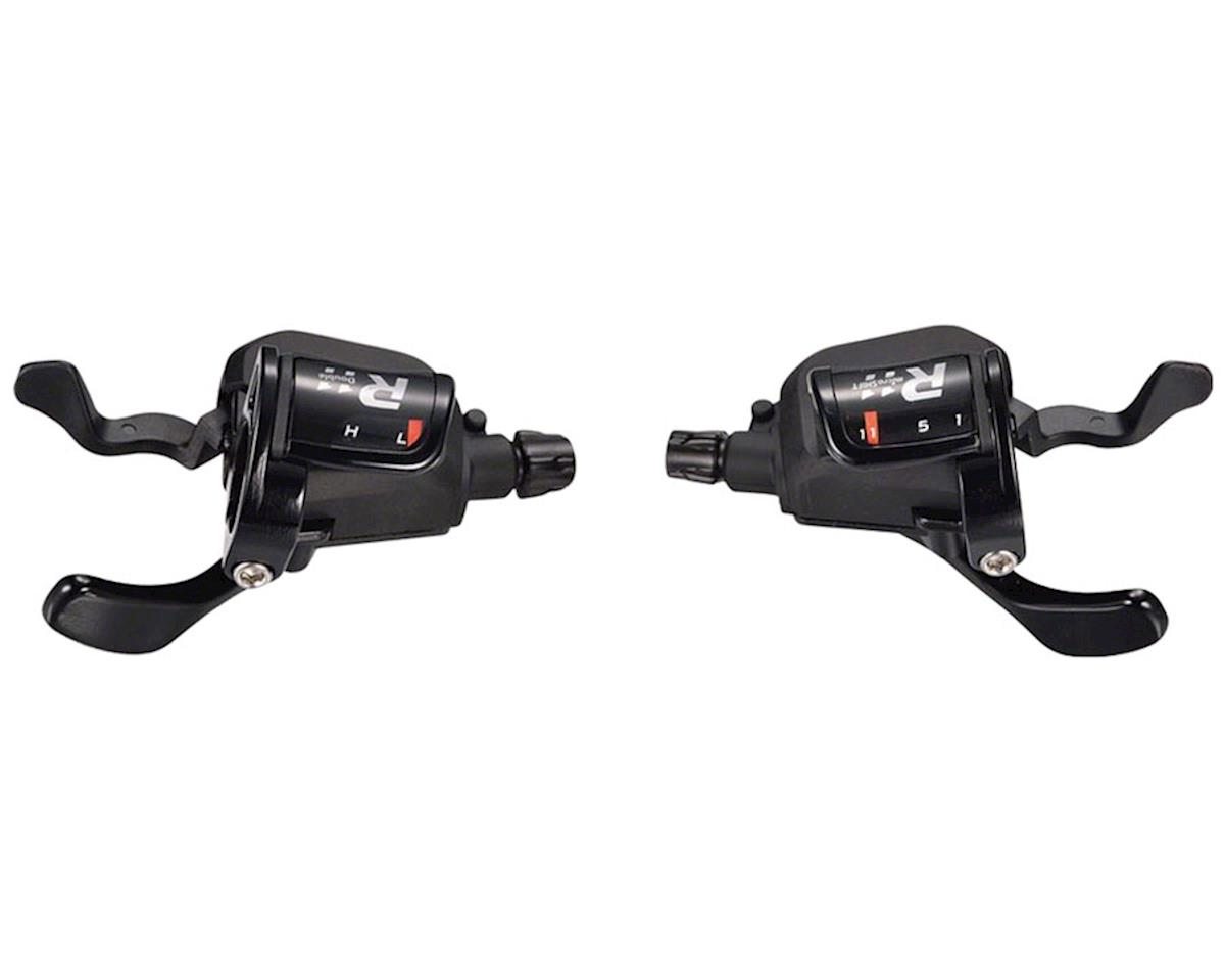 MicroShift R11 Double 11-Speed Flat Bar Shifter Set