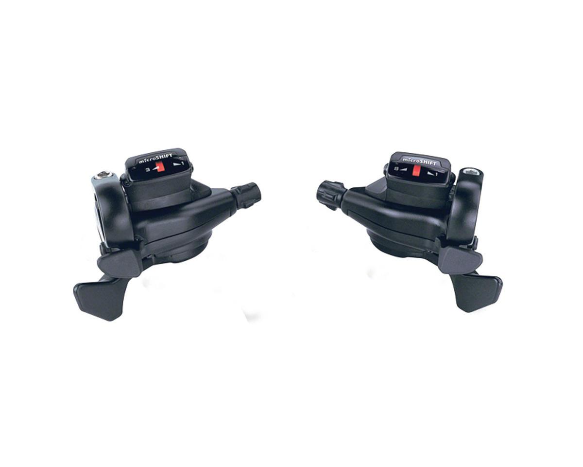 MicroShift Triple 8-Speed Thumb Tap Shifter Set