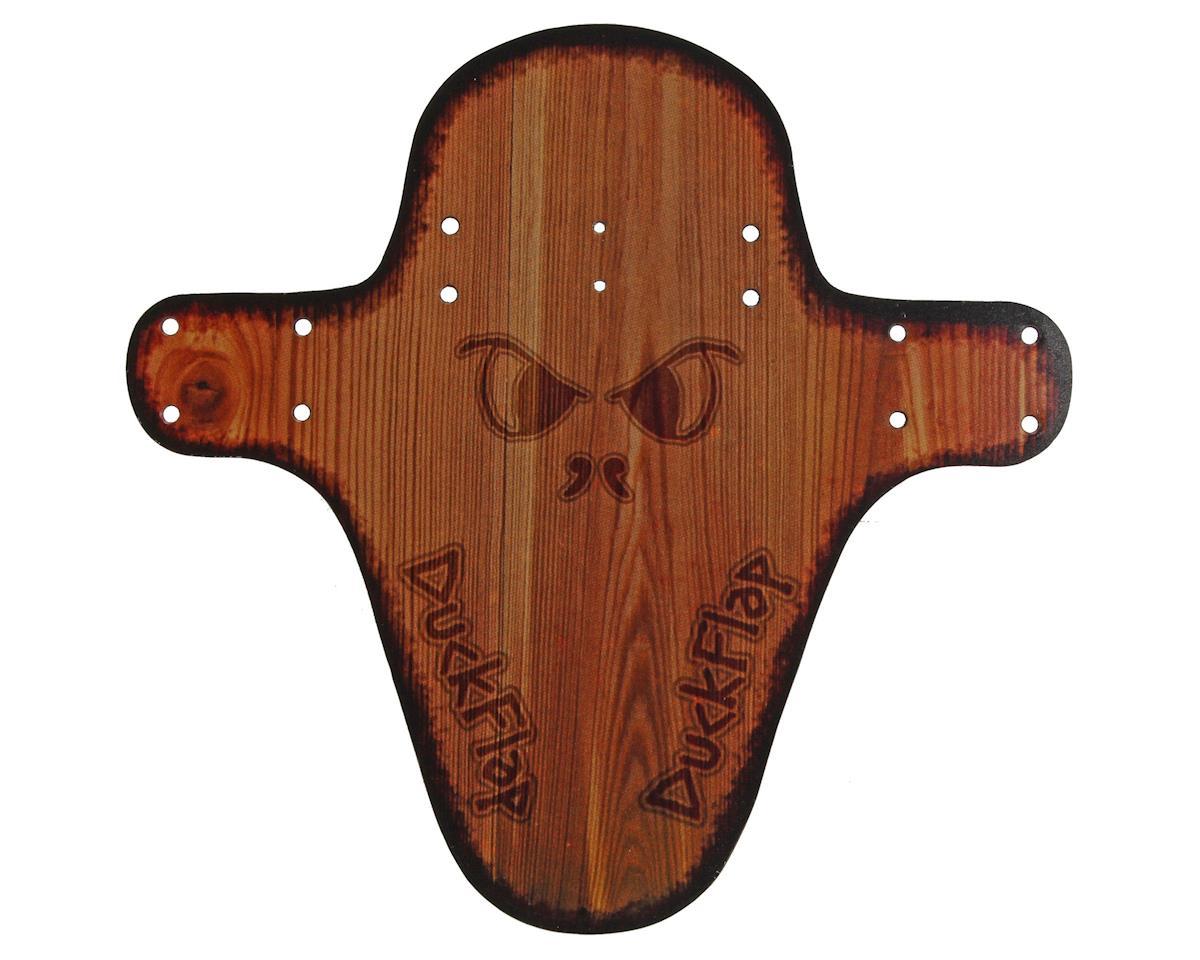 Miles Wide Duck Flap Fender (Wood)