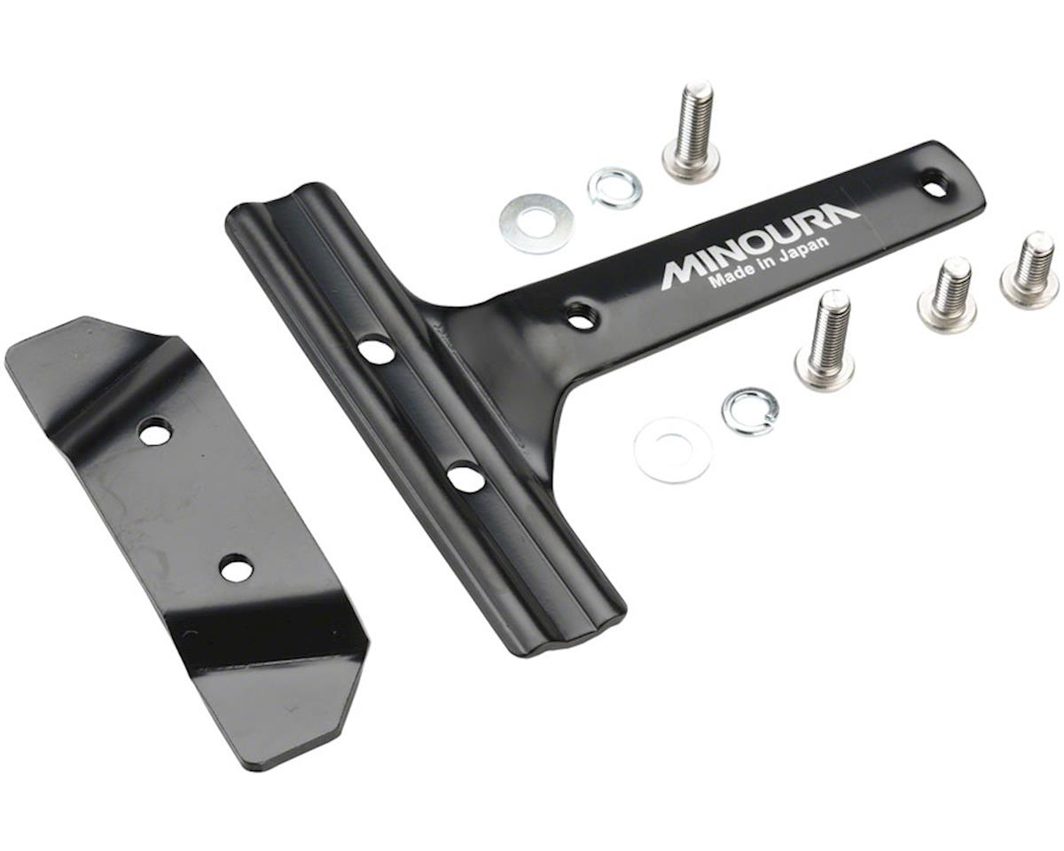 Minoura Rear Mount Saddle-Rail Bracket, for One Water Bottle Cage