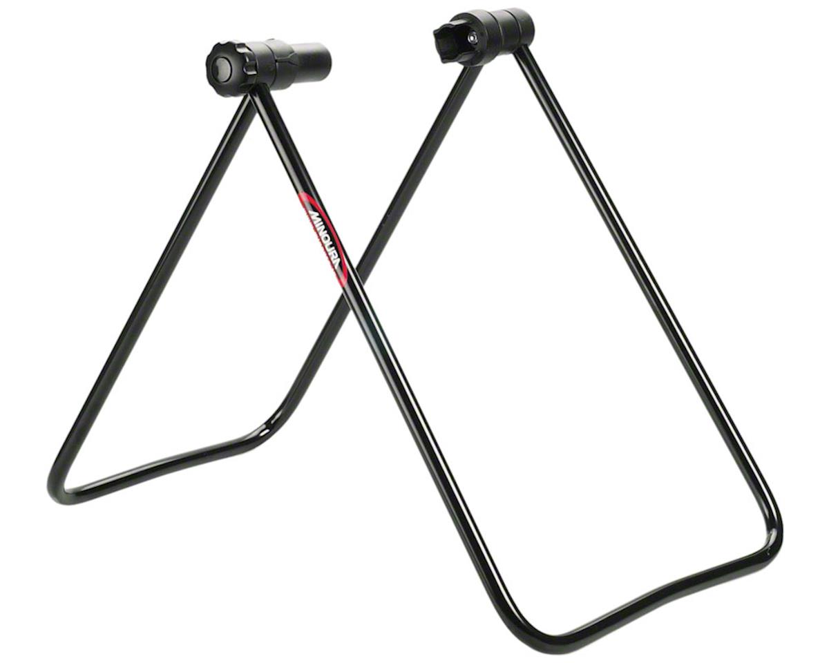 Minoura DS-30 Folding Rear Hub Bike Stand (Black)