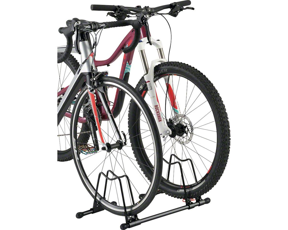 Minoura DS-151 Connect Rack Hoop Stand (Black) (For Road or Mountain Bikes)