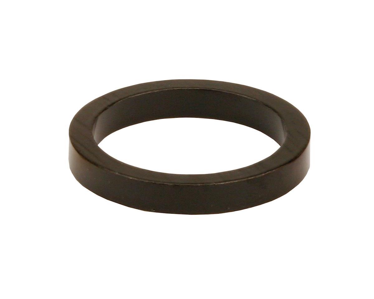 "Misc Headset Spacer (1-1/8"" Aluminum) (Black)"