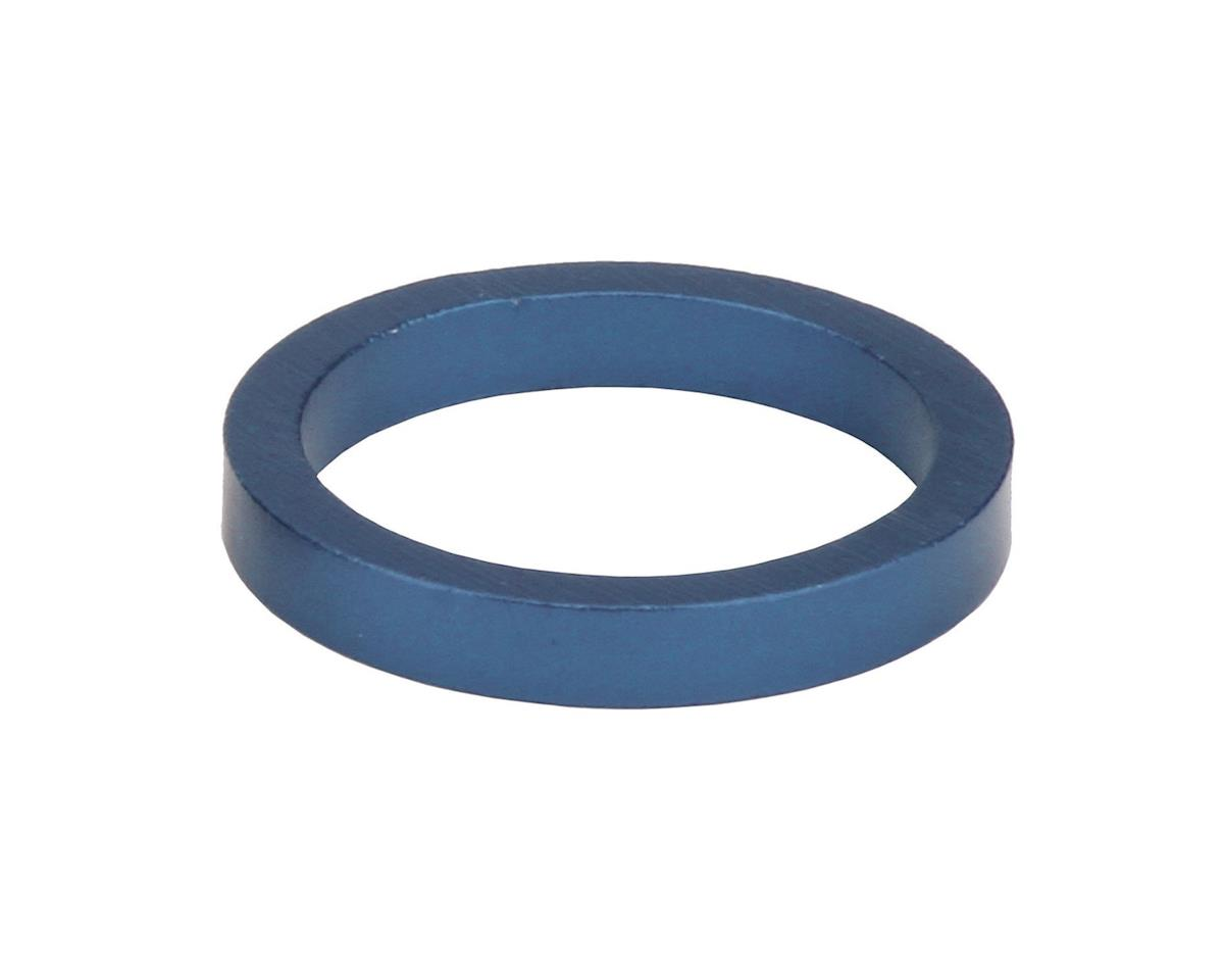 "Misc Headset Spacer (1-1/8"" Aluminum) (Blue) (7mm)"
