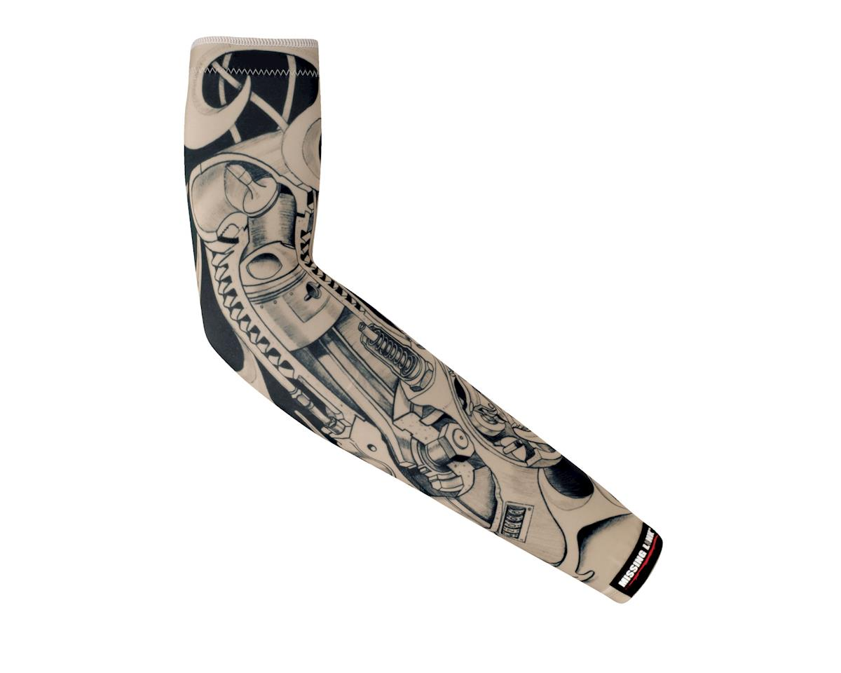 Missing Link Biomechanical ME Tattoo Compression Sleeves (Black/White)