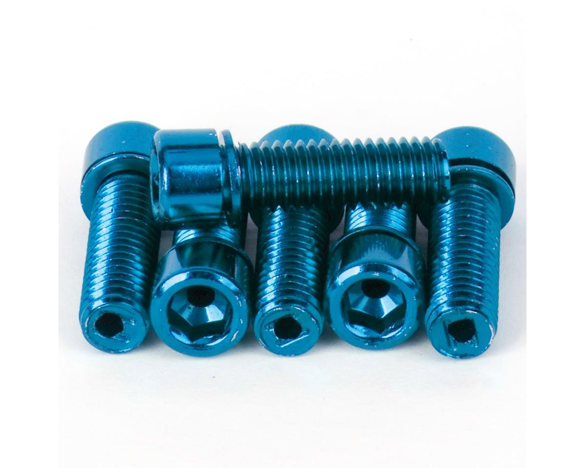 Mission Hollow Stem Bolt Kit (Blue) (8 x 1.25mm)