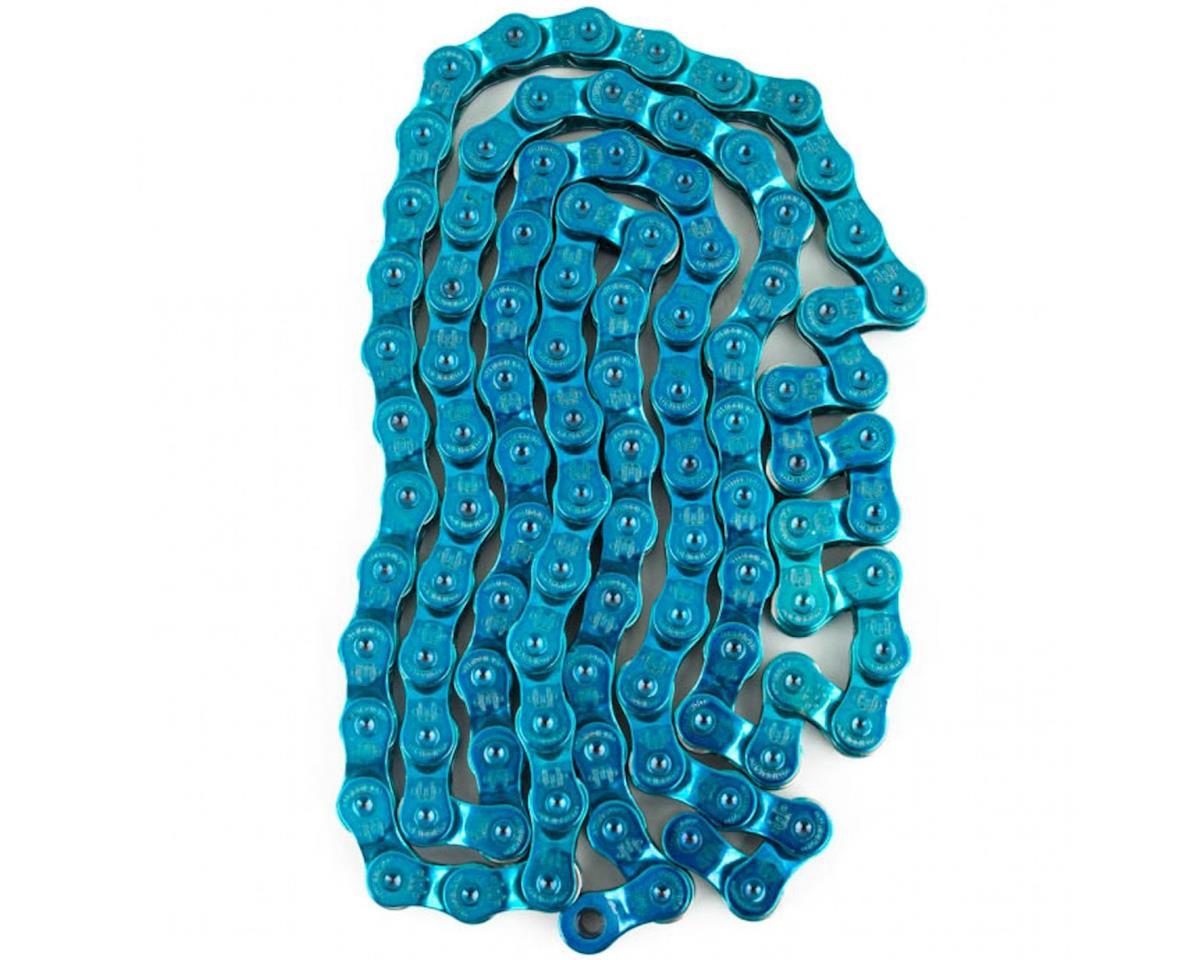 "Mission Half Link Chain (Trans Blue) (1/8"")"