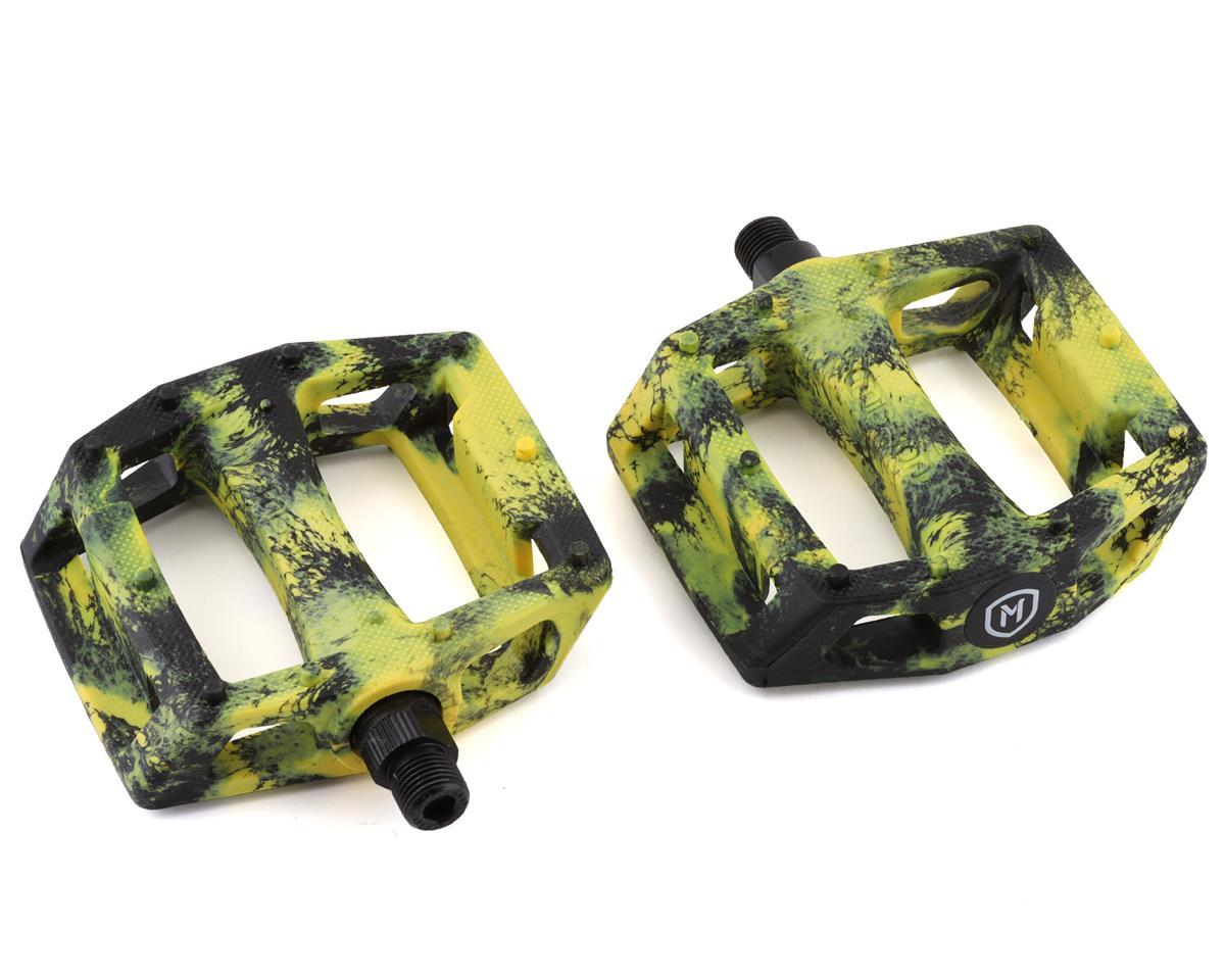 Mission Impulse Pedals black//Yellow