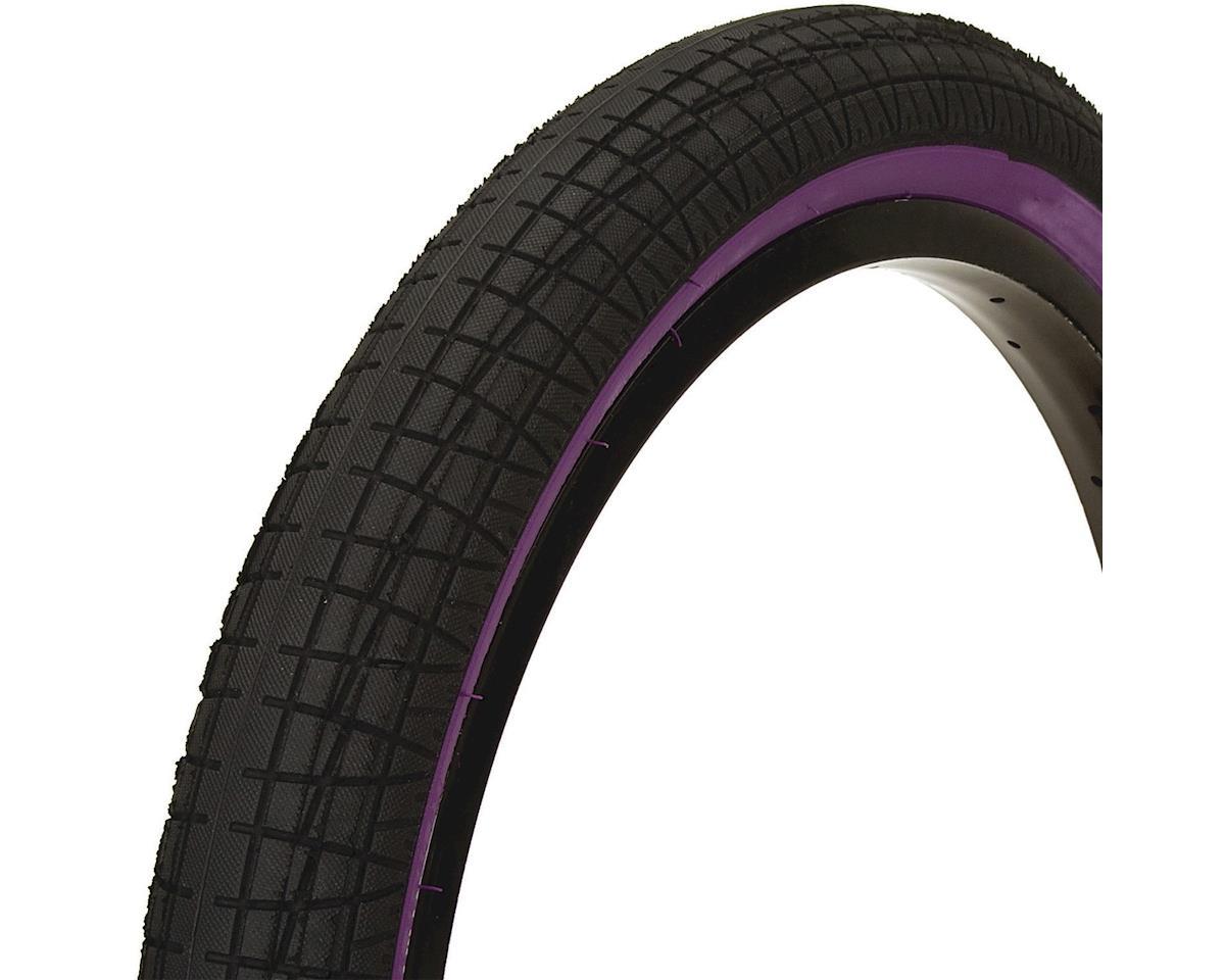 Mission Fleet Tire (Black/Purple) (20 x 2.30)