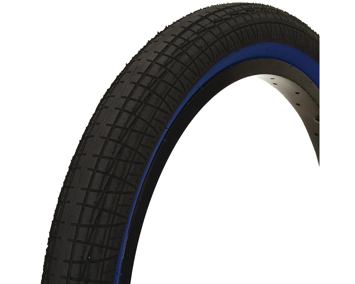 Mission Fleet Tire (Black/Blue) (20 x 2.40)
