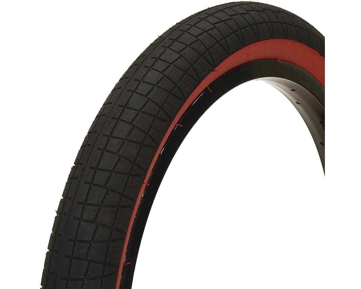 Mission Fleet Tire (Black/Red) (20 x 2.40)