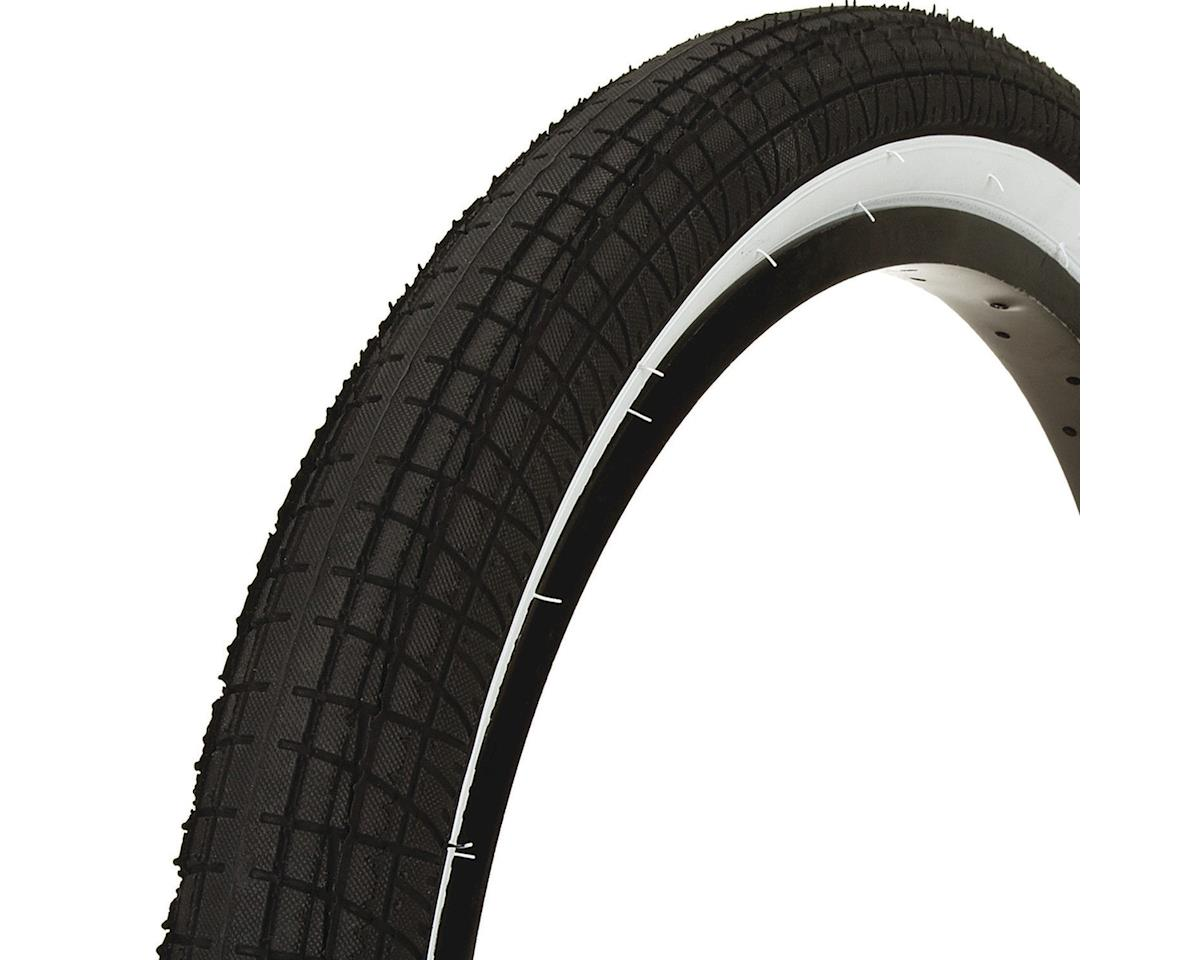 Mission Fleet Tire (Black/White) (20 x 2.40)