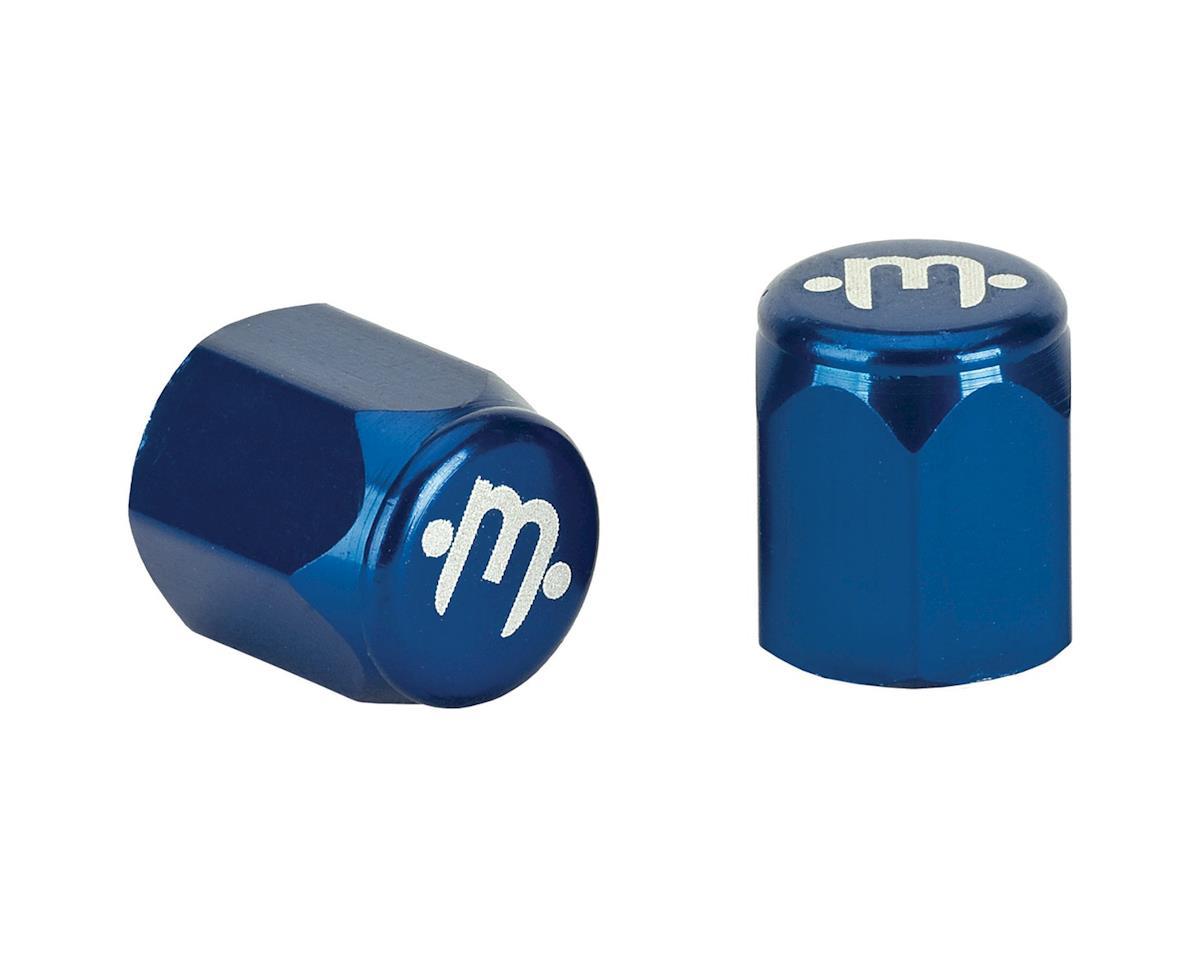 Mission Alloy Valve Caps (Schrader) (Blue)