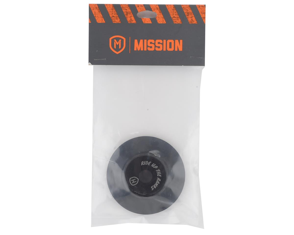 Image 2 for Mission Chromoly Hub Guard (Black) (Front)