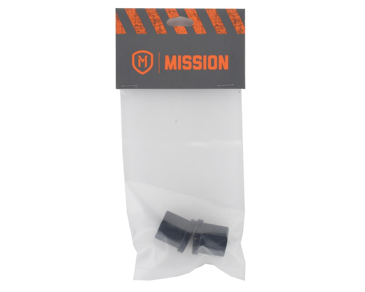 """Image 2 for Mission Alloy Axle Nuts (Black) (3/8"""" (10mm))"""