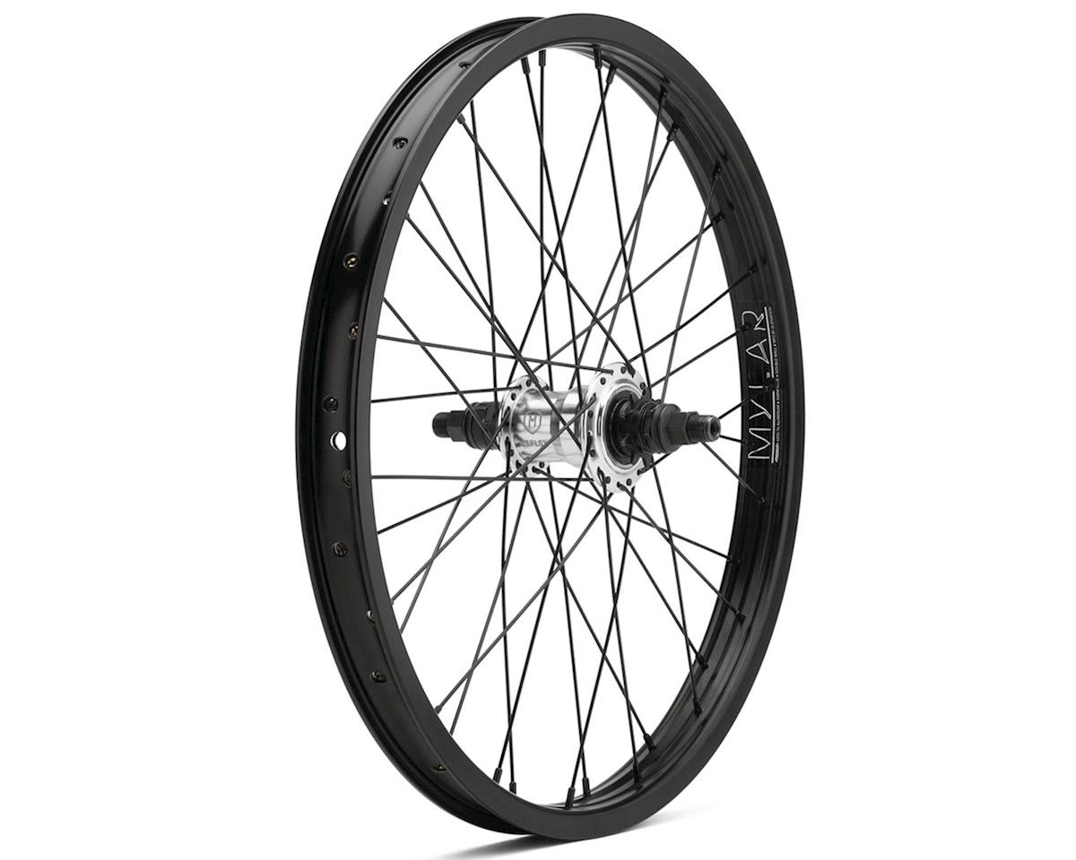 """Mission Deploy Freecoaster Wheel (Silver/Black) (Left Hand Drive) (20 x 1.75"""")"""