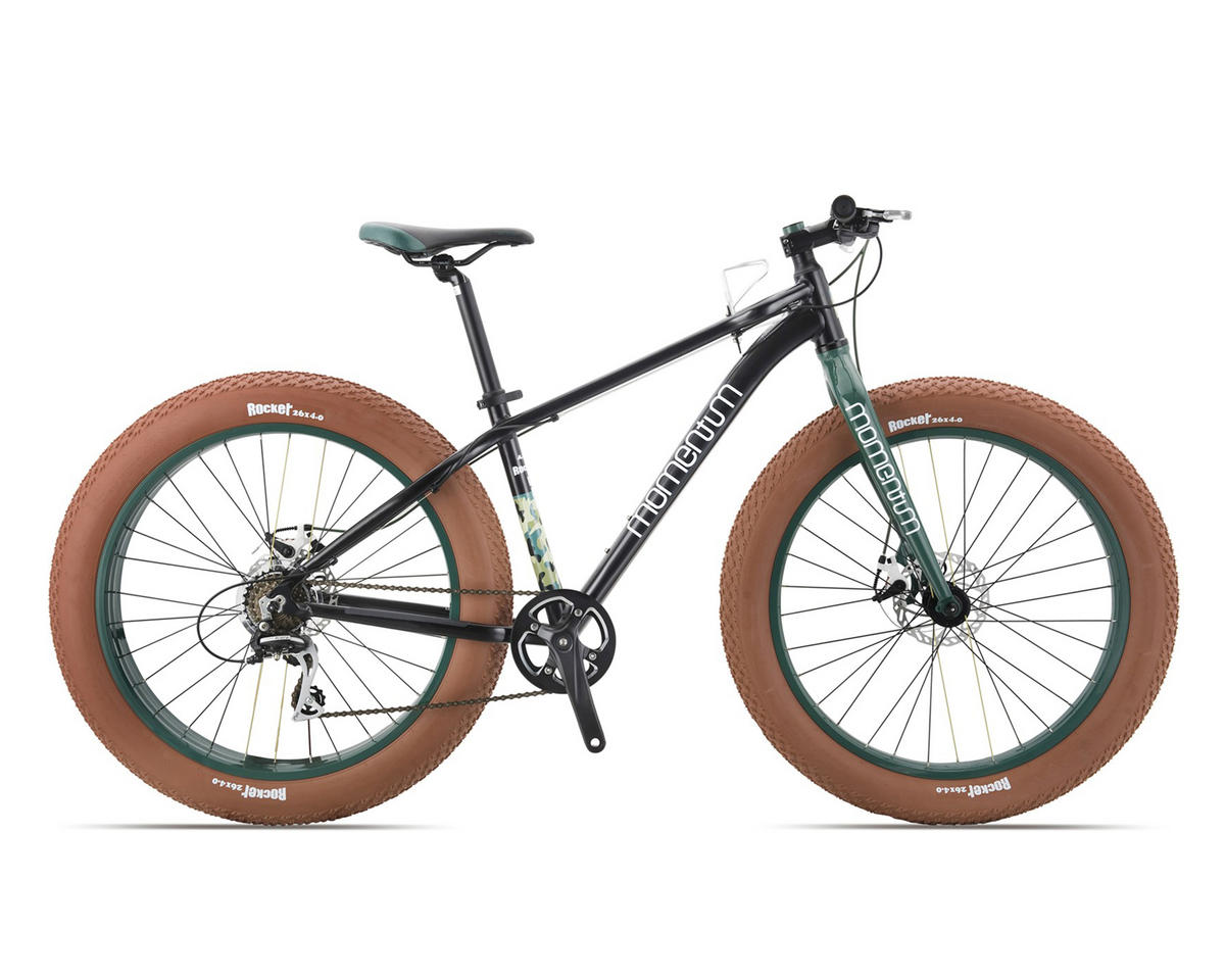 Momentum 2017 Rocker Fat Bike (Black/Green)