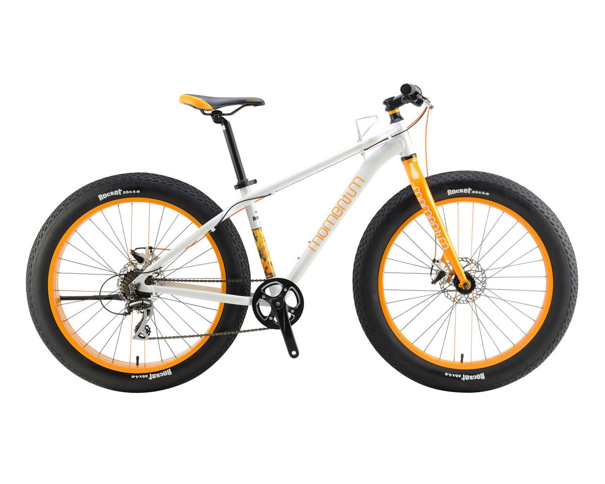 Momentum 2017 Rocker Fat Bike (White/Orange)