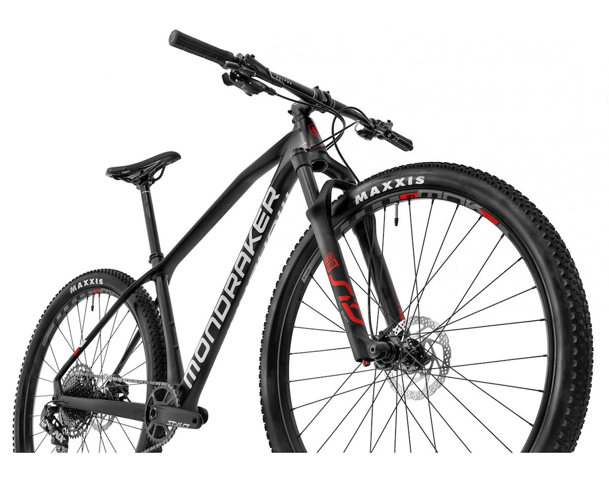 Image 4 for Mondraker CHRONO CARBON R XC Bike (Carbon/White/Flame Red) (S)