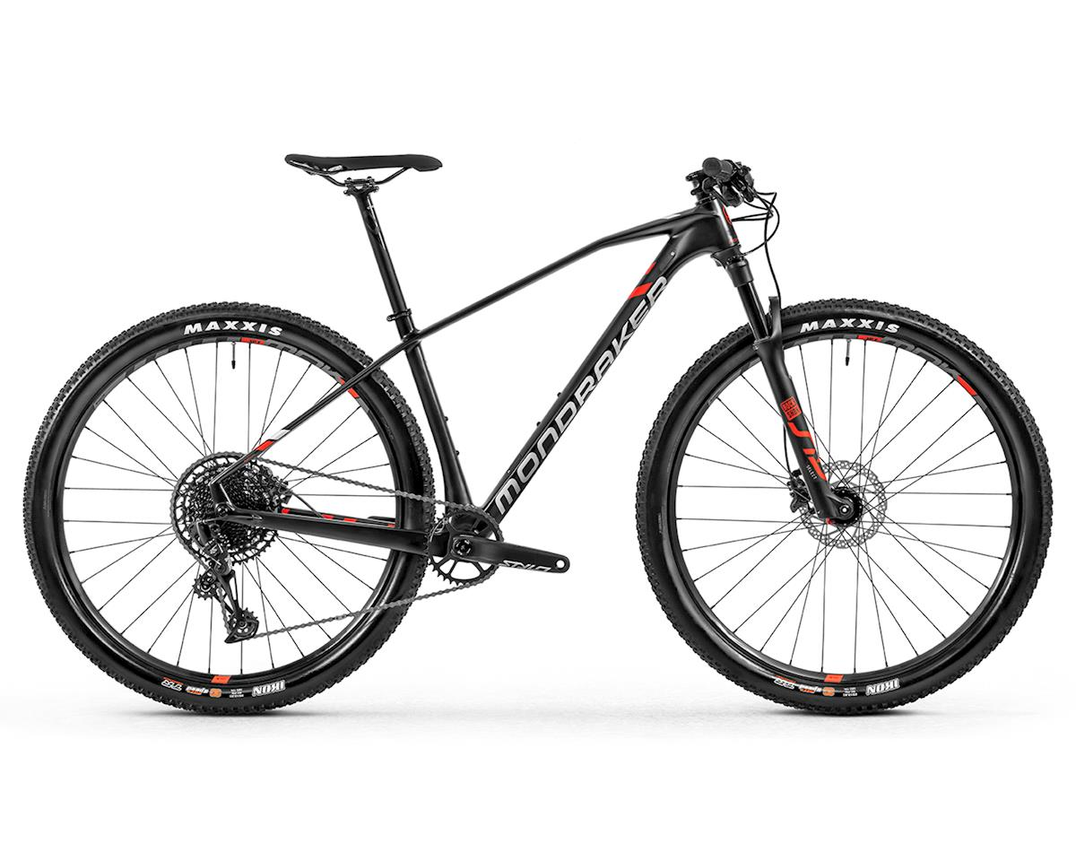 Mondraker CHRONO CARBON R XC Bike (Carbon/White/Flame Red) (XL)
